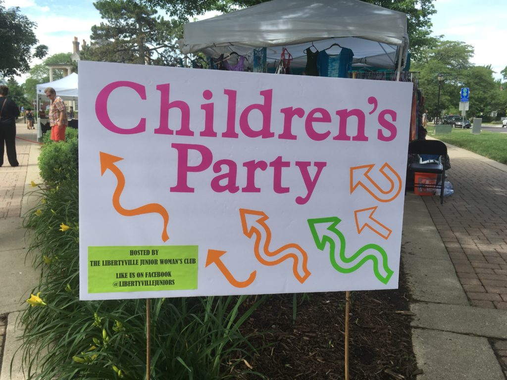 Libertyville Days Children's Party 2017