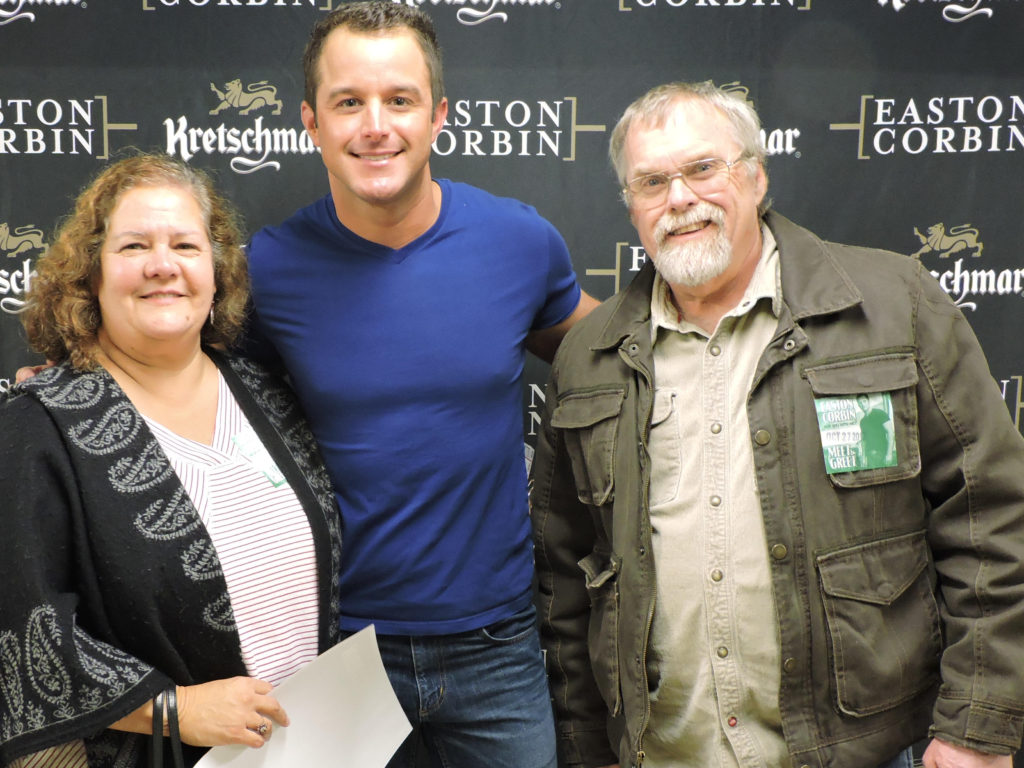 Easton Corbin Concert Meet and Greet 2017