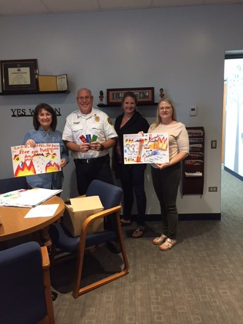 Fire Prevention Poster Judging 2018