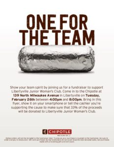 Chipotle Fundraiser @ Chipotle Mexican Grill